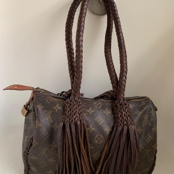 Louis Vuitton Handbags - Authentic Vintage Upcycled Louis Vuitton Handbag